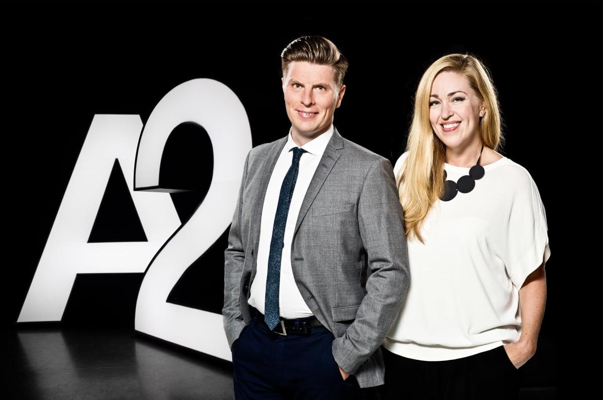 Annika Damström ja Markus Liimatainen