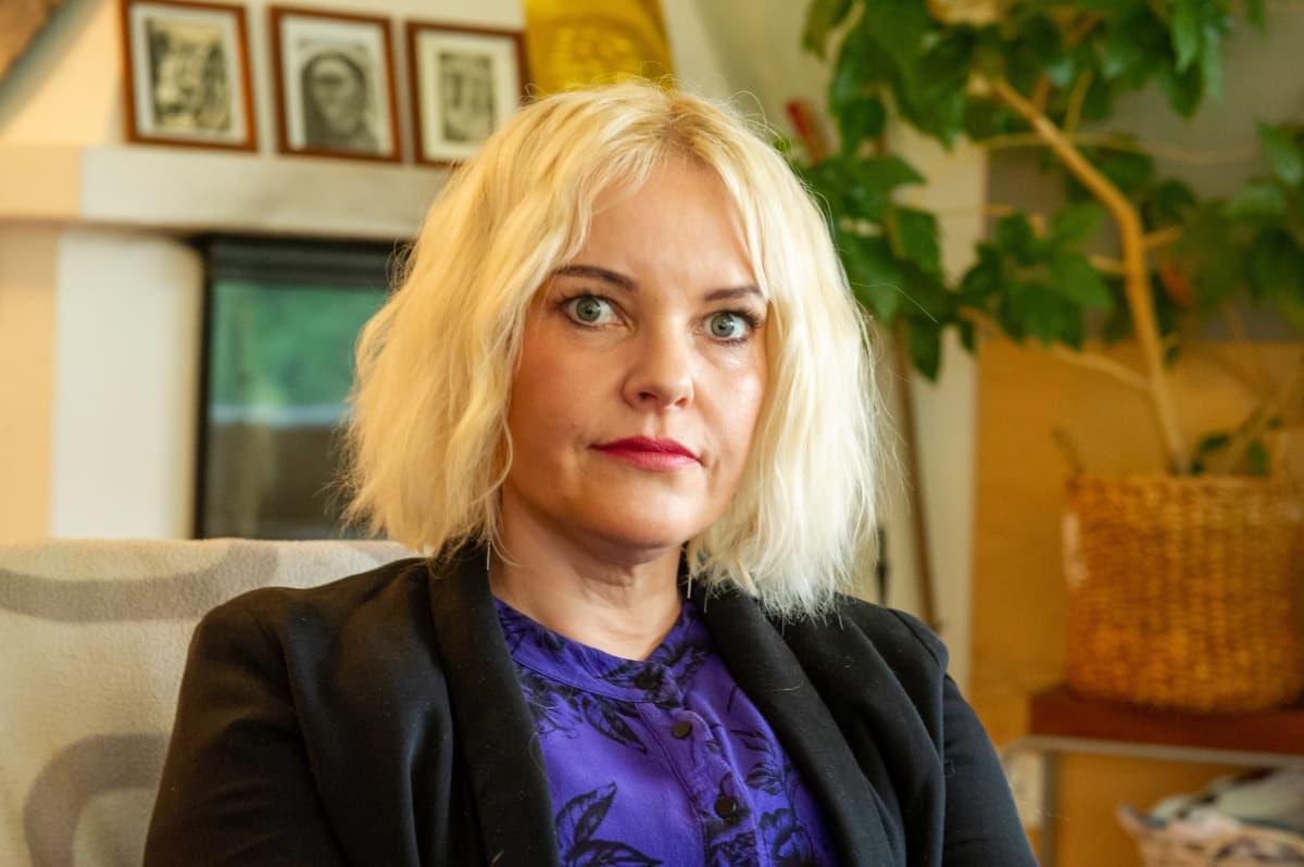 Kansainvälisten asioiden johtaja Elina Korhonen.
