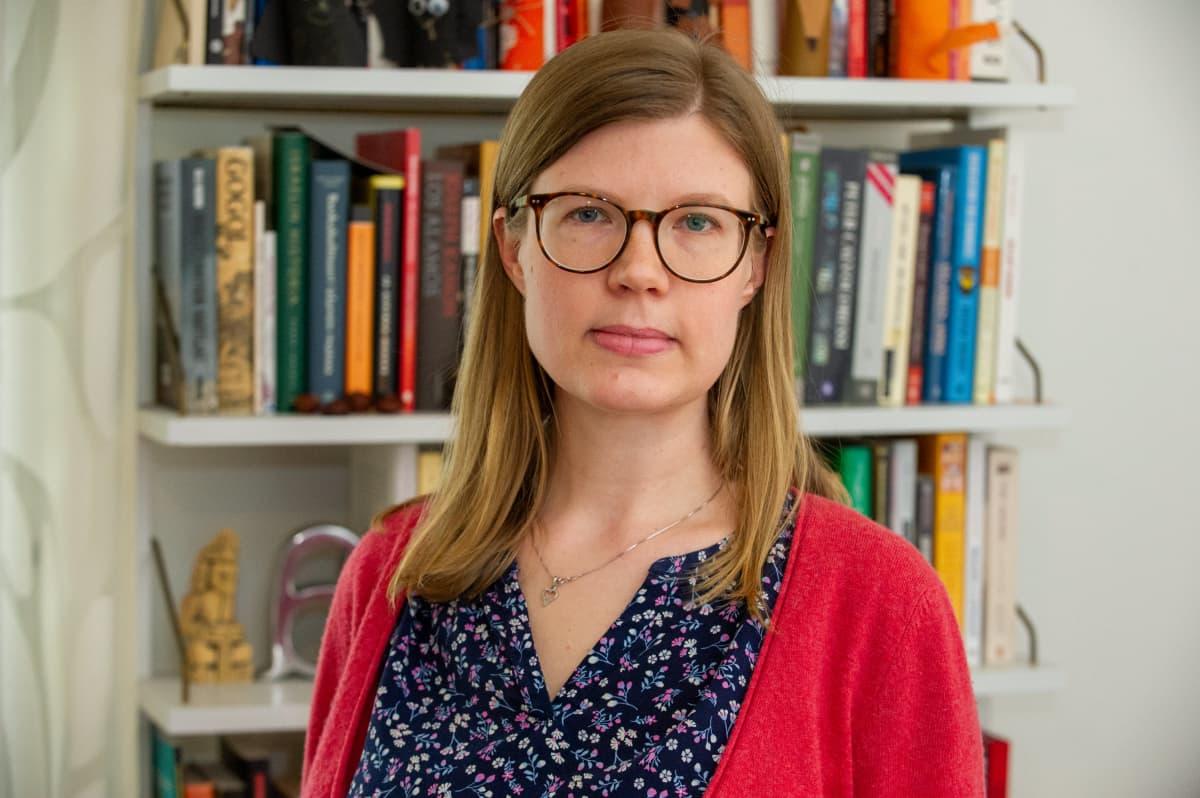 Syyrian tutkija Tiina Hyyppää.