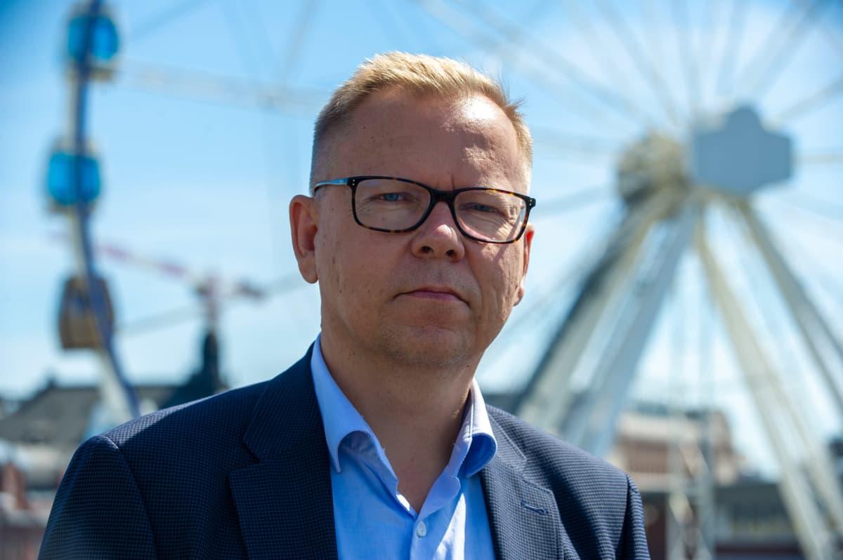 Supon vt. apulaispäällikkö Jyri Rantala