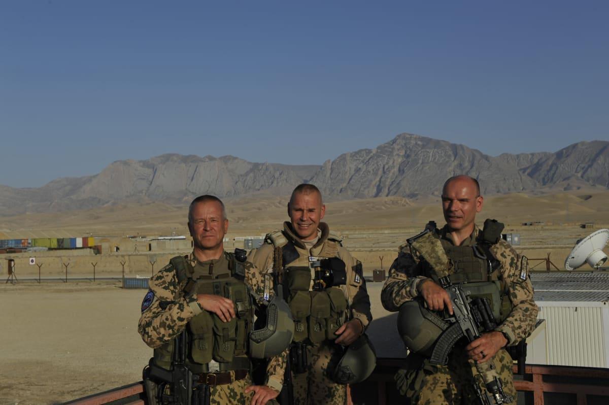 Sotilaita Afganistanissa