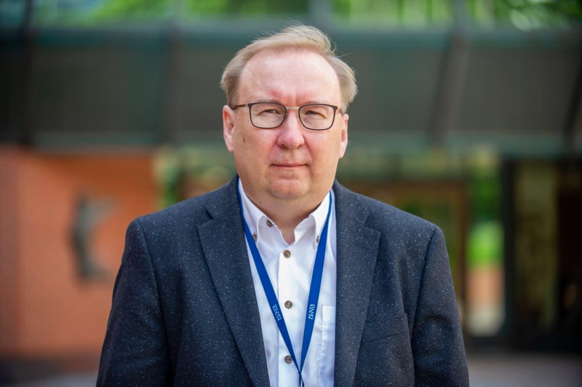 Kuntaliitton varatoimitusjohtaja Timo Reina.