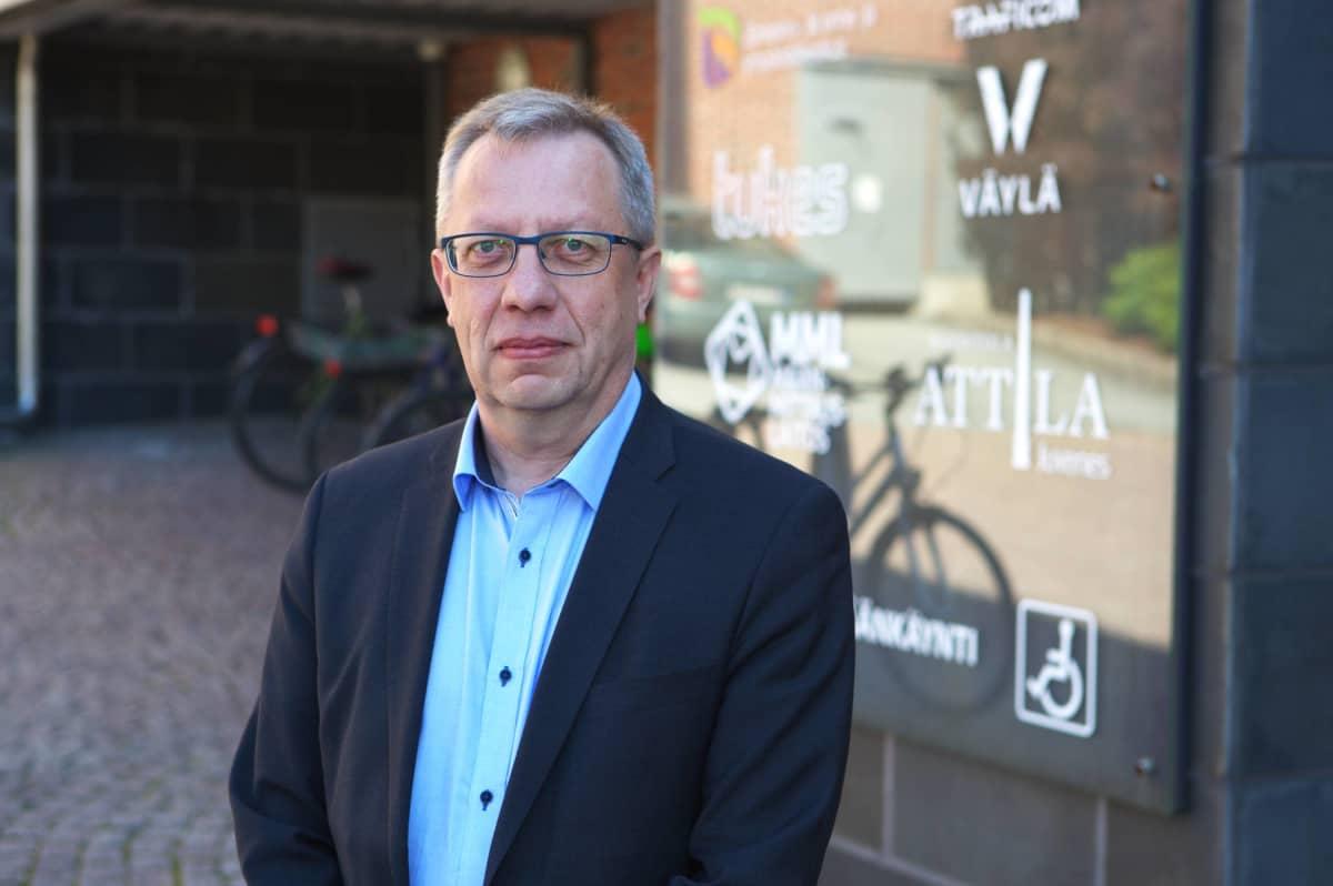 Pirkanmaan ELY-keskuksen ylijohtaja Juha Sammallahti.