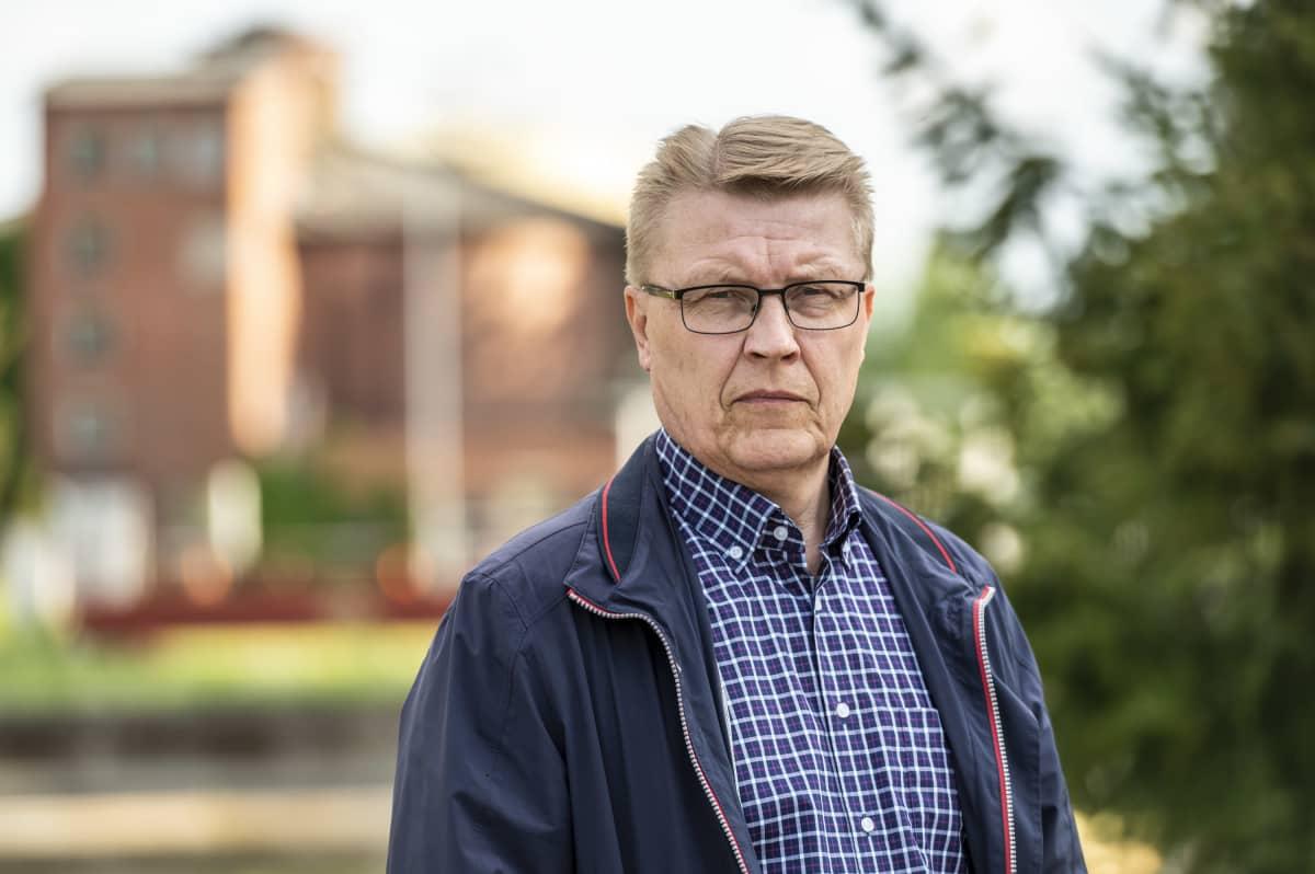 Mikkelin vesilaitoksen johtaja Reijo Turkki