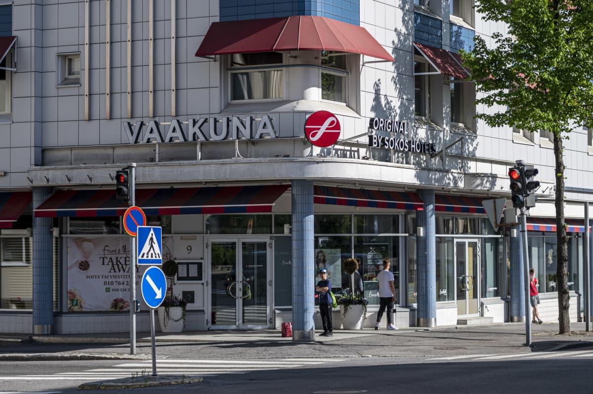 Sokos hotel vaakuna Mikkelissä