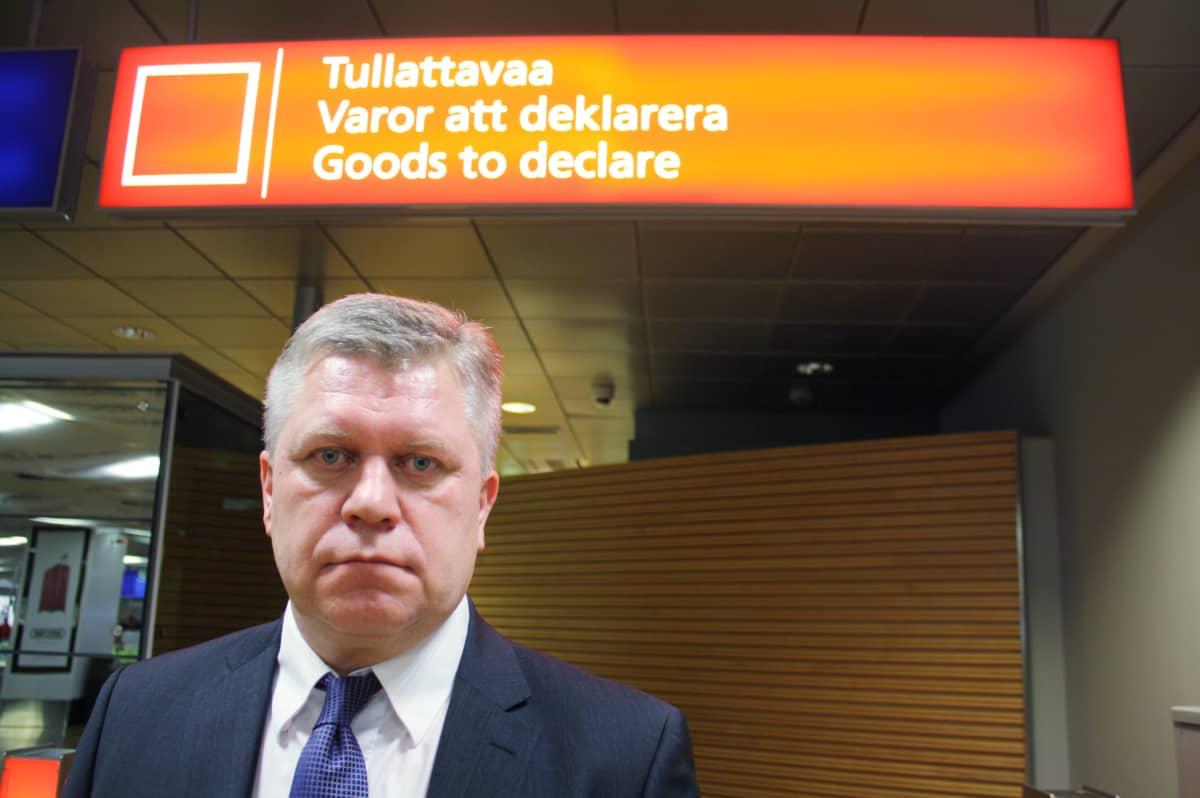 Valvontajohtaja Hannu Sinkkonen