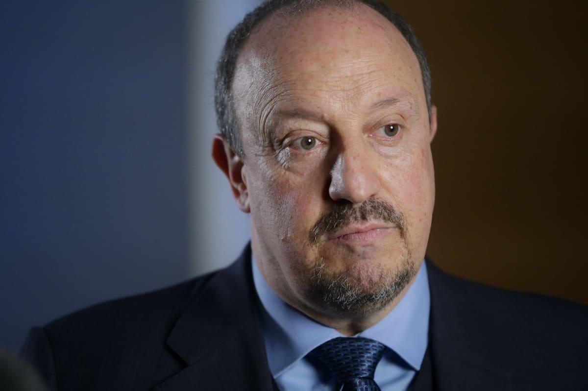 Rafael Benitez kuvassa.