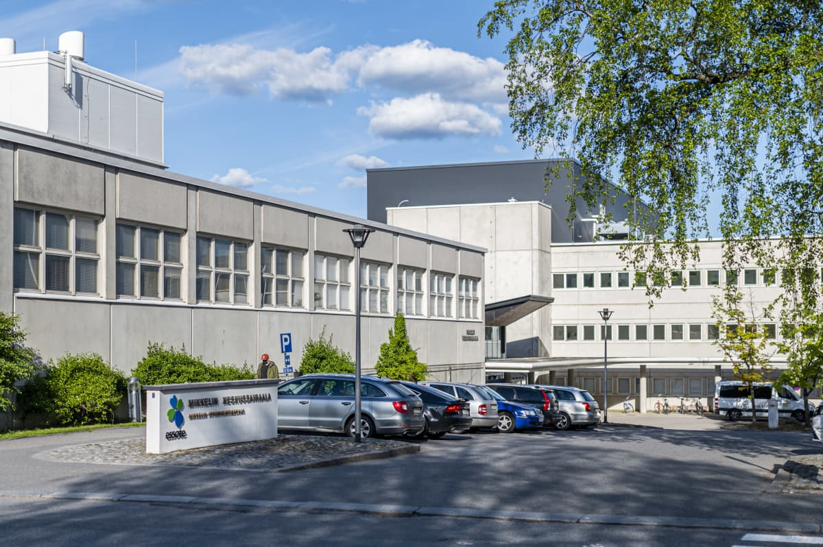 Mikkelin keskussairaalan julkisivu