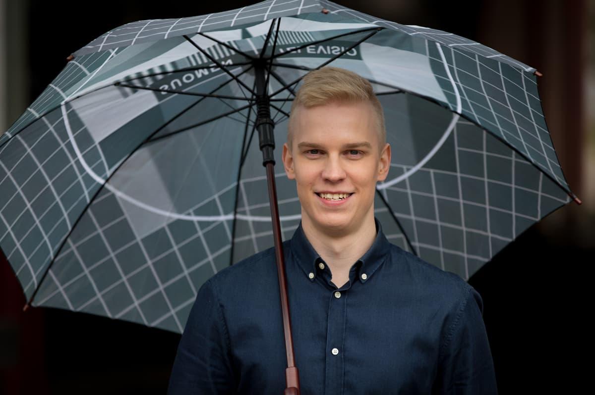Meteorologi Joonas Koskela.