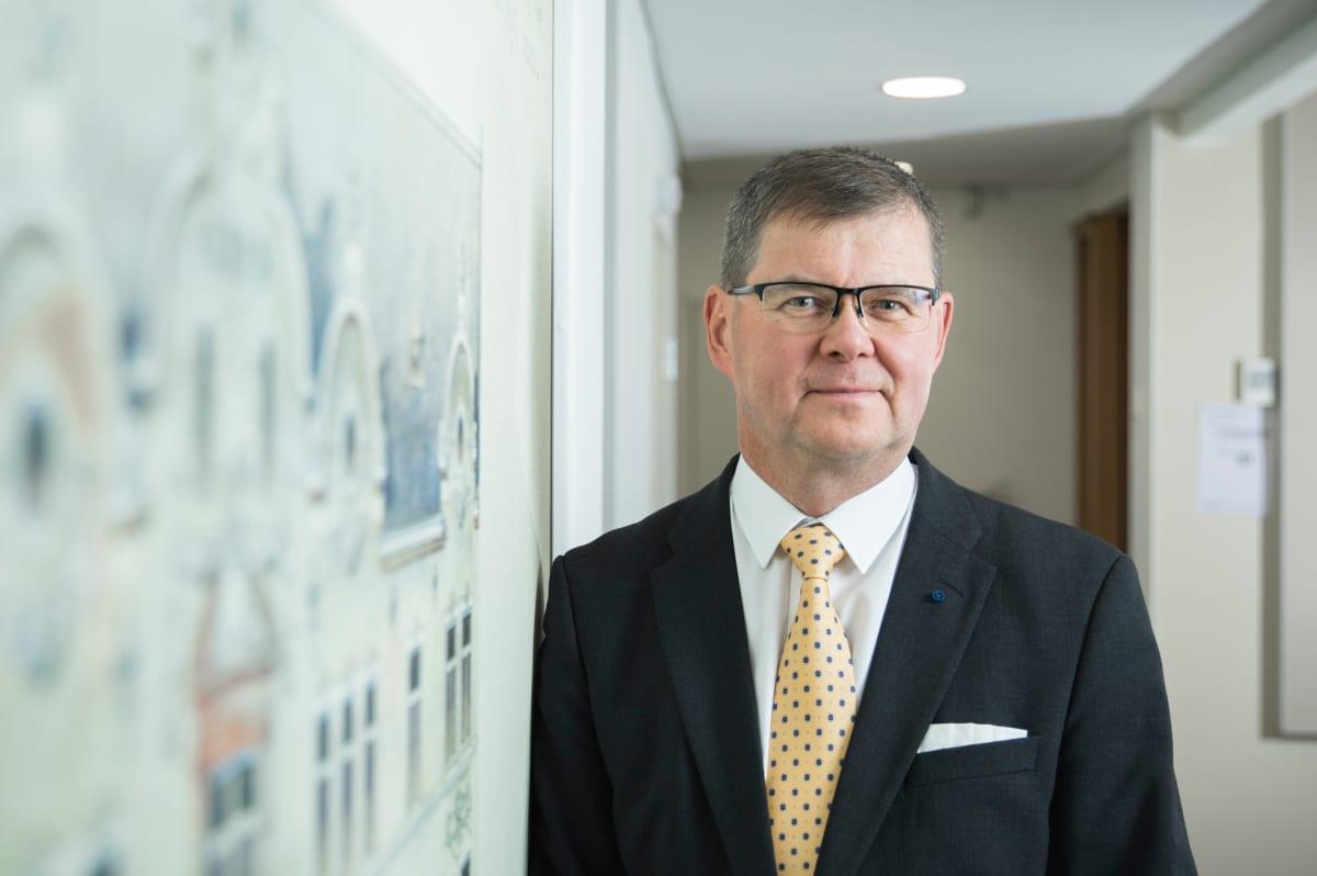 Harri Hiltunen, toimitusjohtaja, Kiinteistöliitto.
