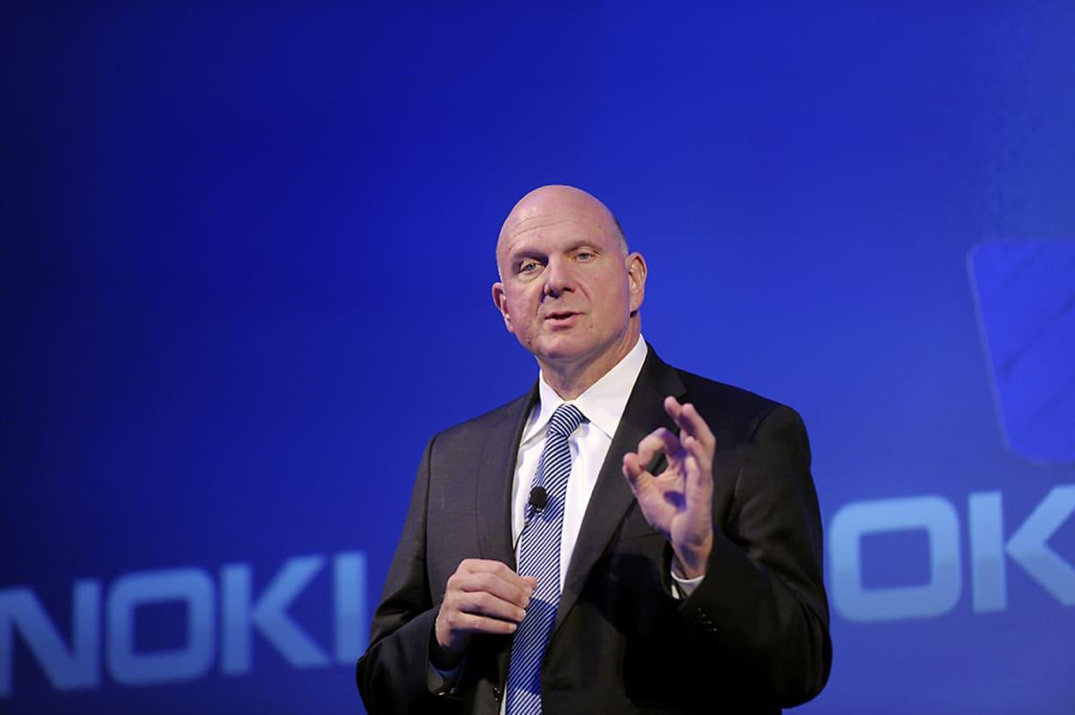 Microsoftin toimitusjohtaja Steve Ballmer pitää puhettaan Espoon Dipolissa 3. syyskuuta.