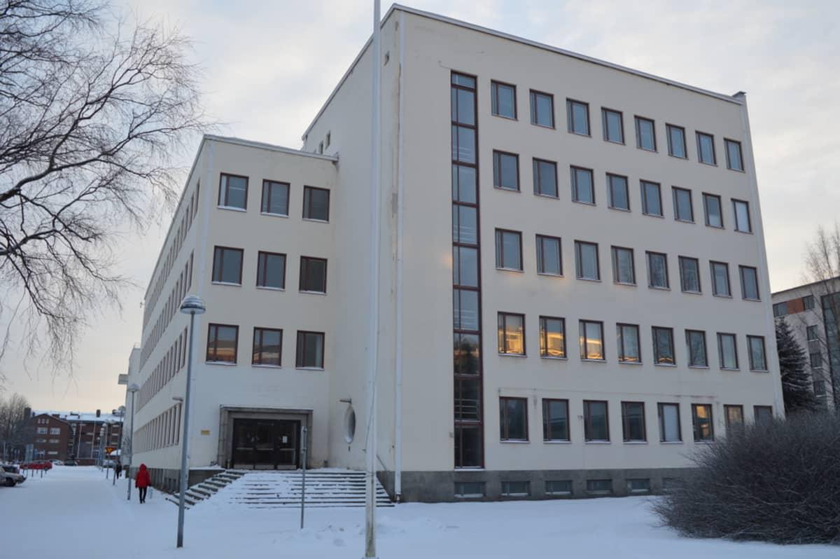 Albertinkuja Oulu Oulun seudun koulutuskuntayhtymän Vanha Tekun talo on vaihtanut omistajaa.