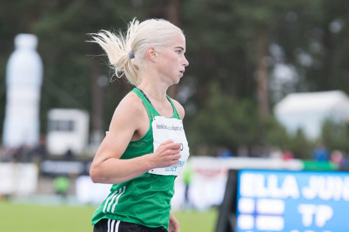 Alisa Vainio oli kaukana huippuvauhdistaan vielä elokuussa käydyissä Kalevan kisoissa.