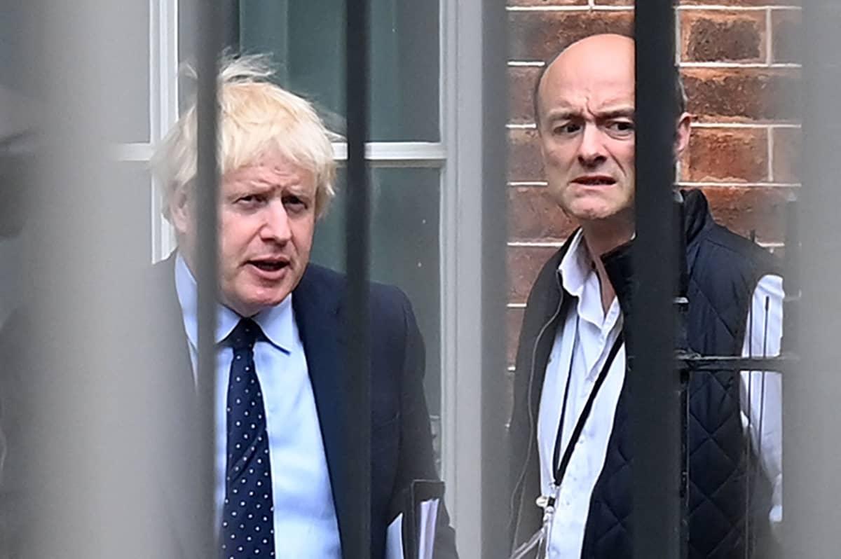 Dominic Cummings ja Boris Johnson.