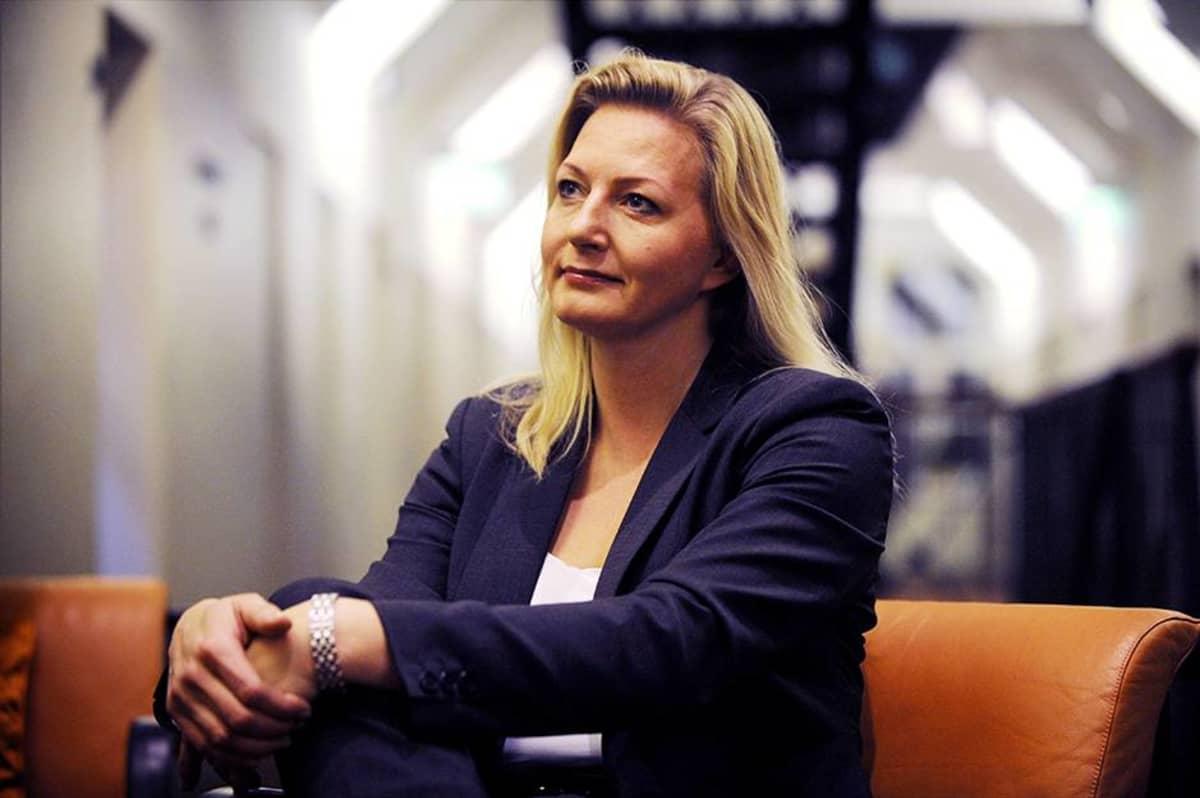 Merja Ailus valokuvattuna hänen aloittaessaan tehtävänsä Kevan toimitusjohtajana joulukuussa 2009.