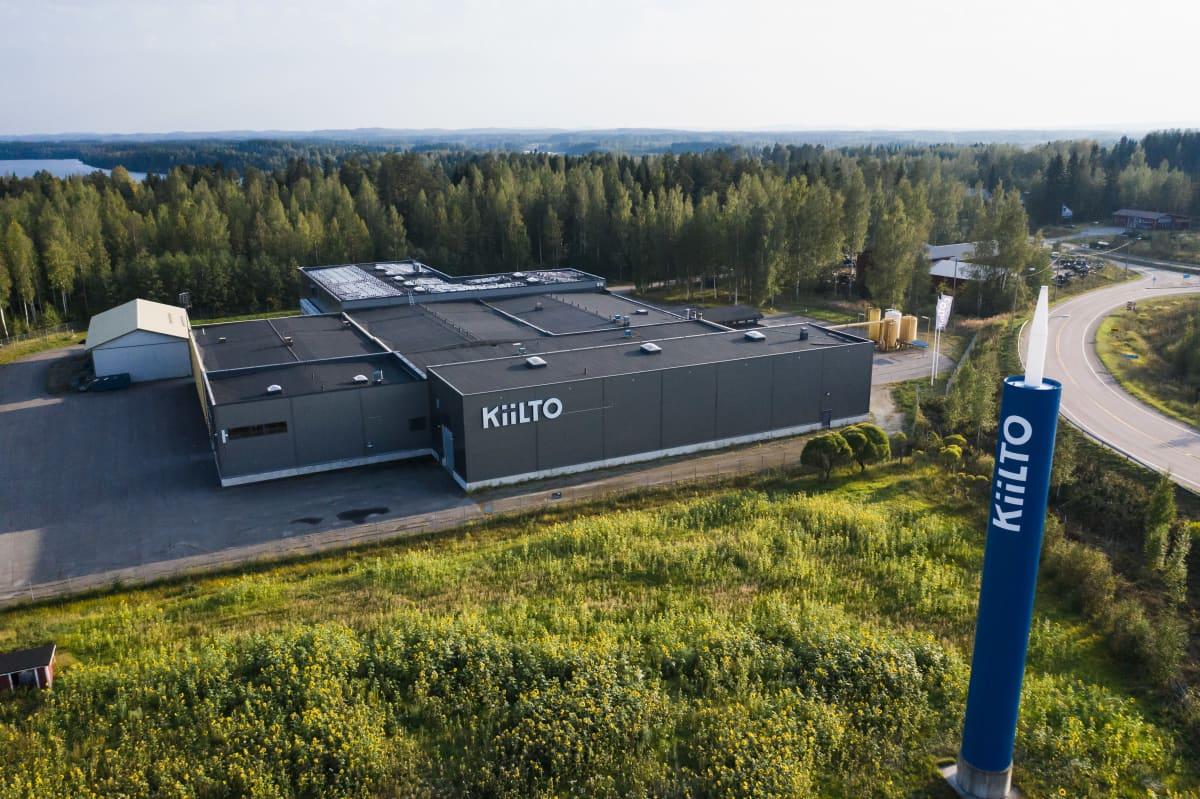 Kiilto Cleanin tehdas Hankasalmella.