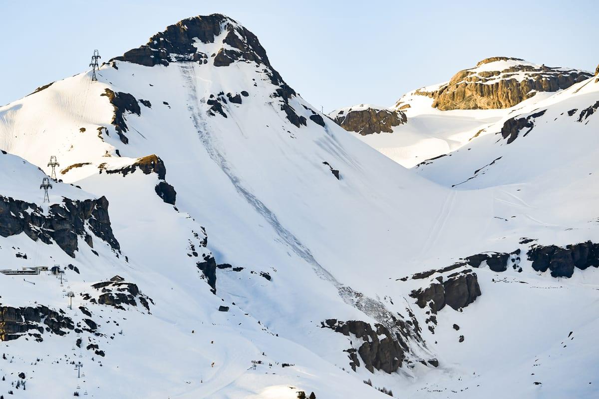 Crans-Montana Valais'n kantonissa.