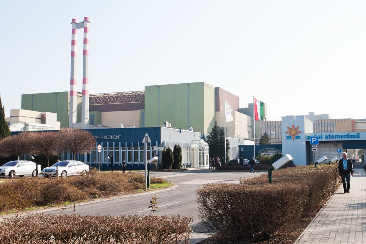Paksin ydinvoimala Unkari, Rosatom.