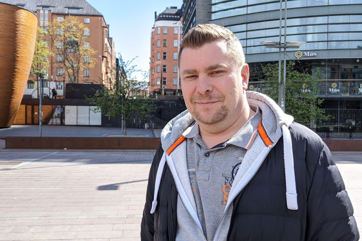Night People Groupin toimitusjohtaja Antti Raunio.