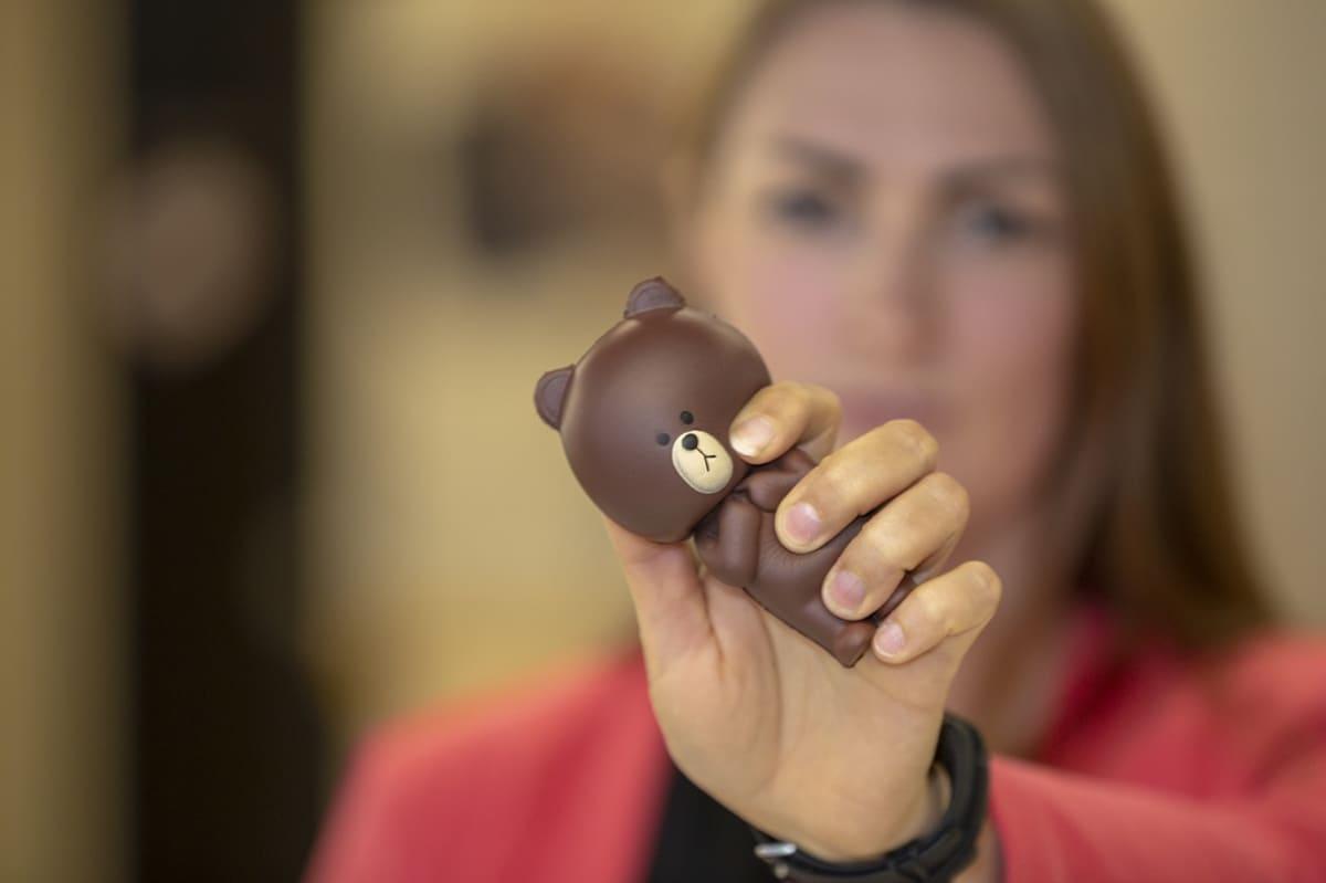Anja Merenkivi, Tukes, ylitarkastaja, suklaanalle