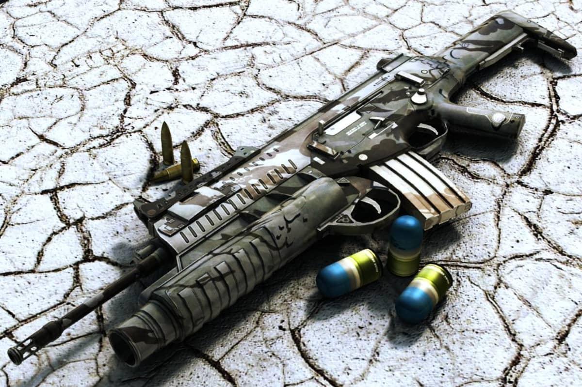 Berettan rynnäkkökivääri AXR 160