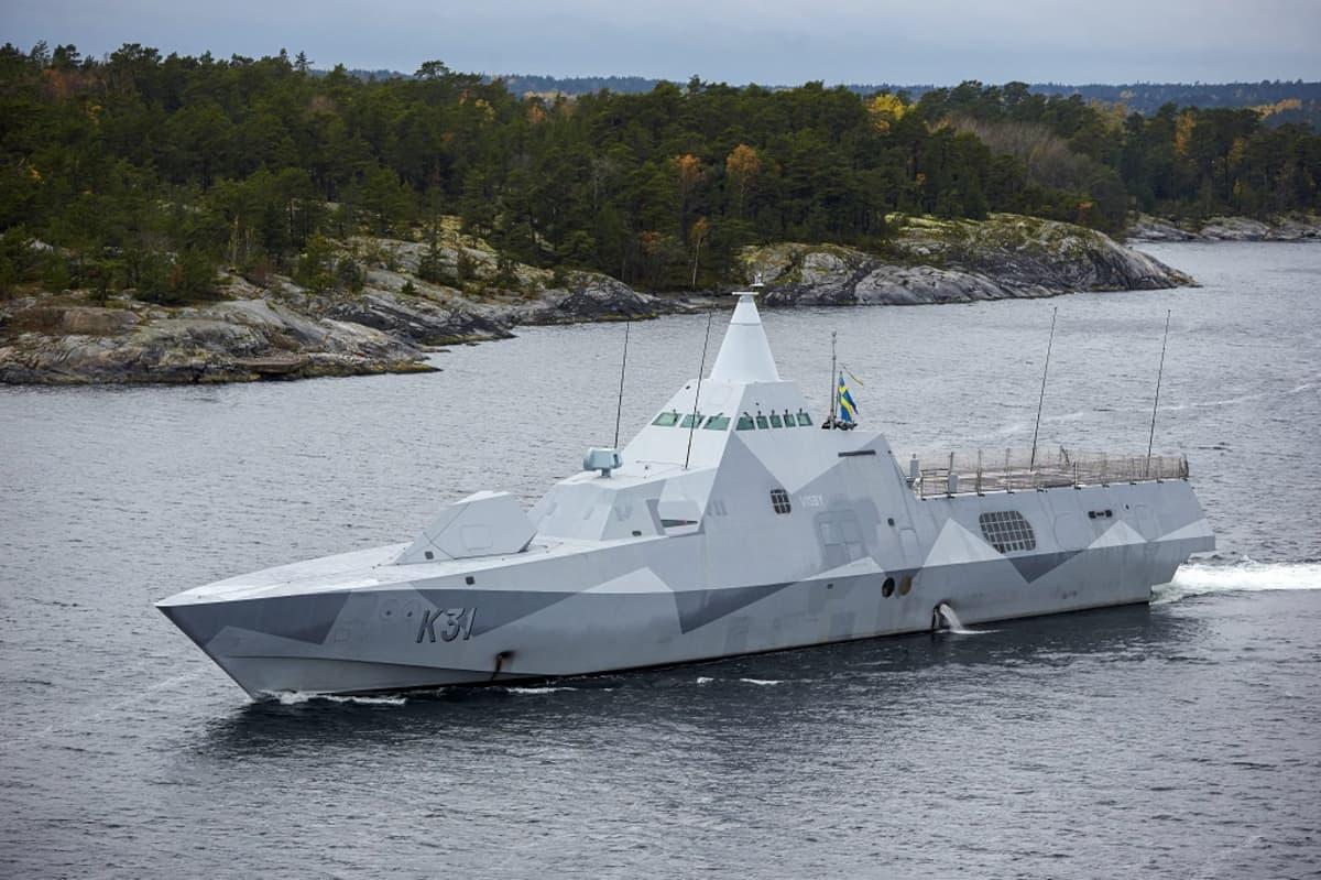 ruotsalainen sotalaiva visby