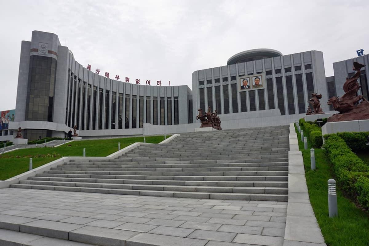 Pjongjan, Pohjois-Korea 5. toukokuuta 2016.