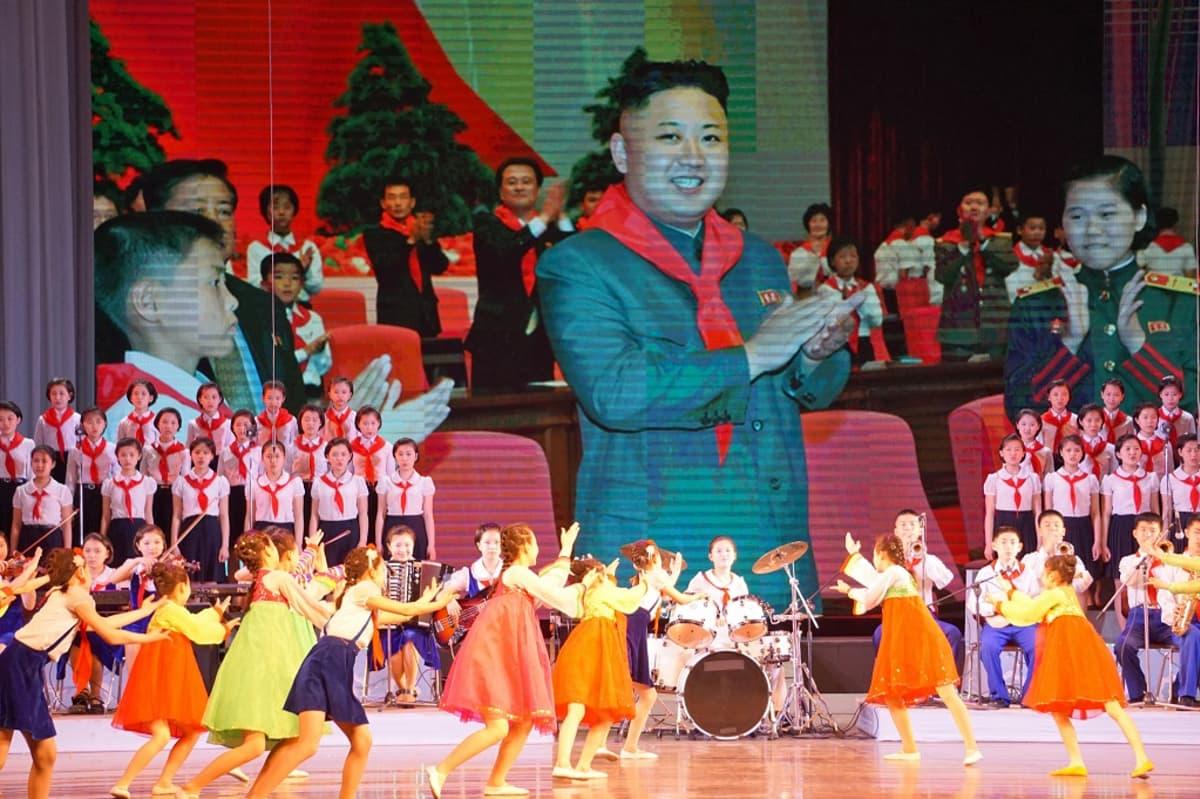 Pjongjang, Pohjois-Korea 5. toukokuuta 2016.