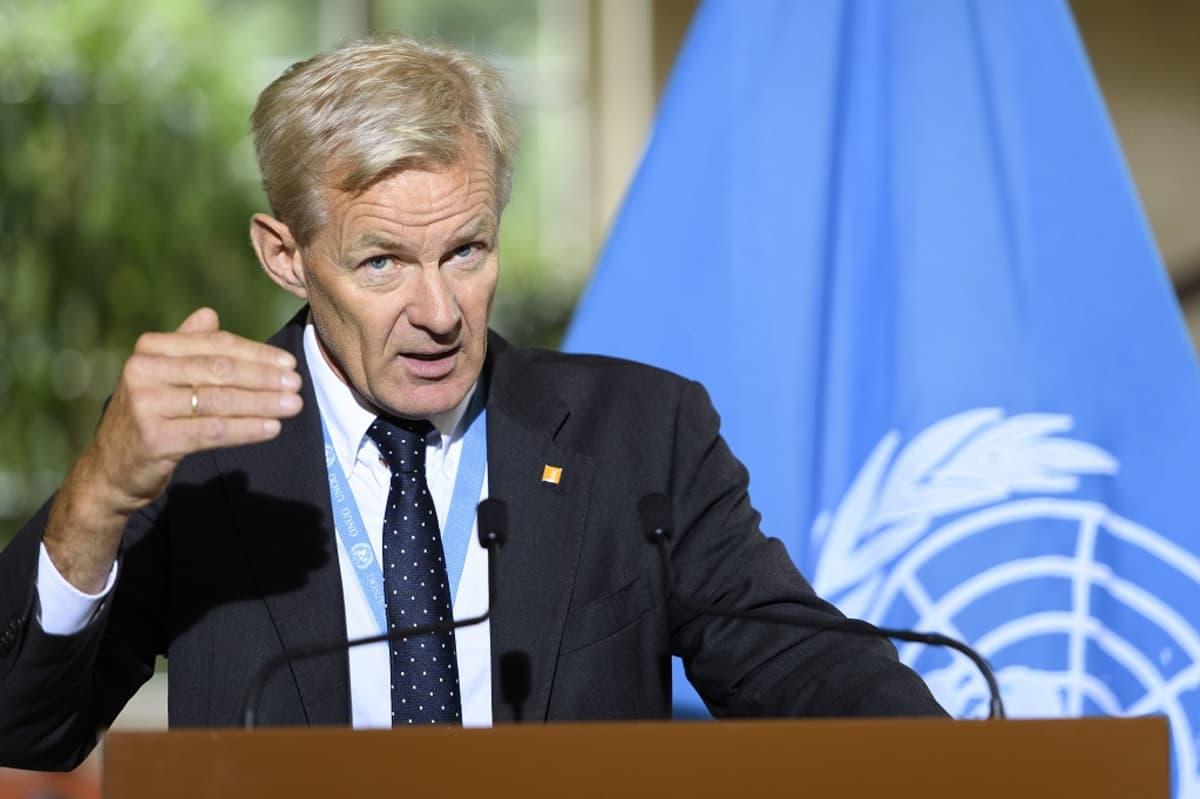 YK:n Syyrian erityislähettiläs Jan Egeland