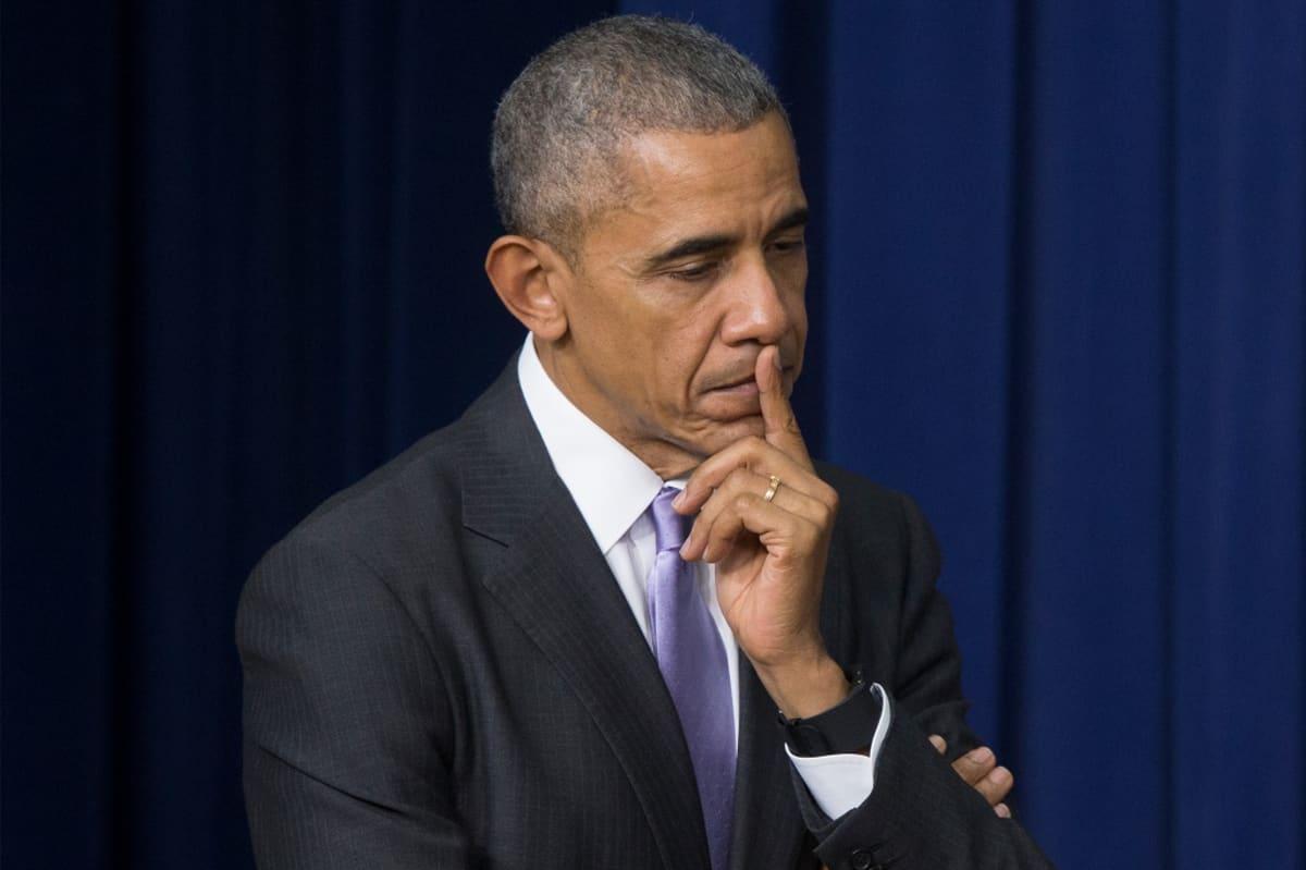 Yhdysvaltojen entinen presidentti Barack Obama