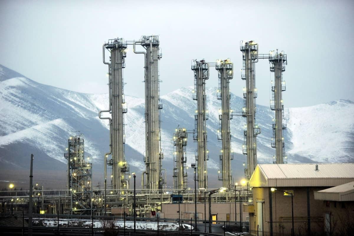 Raskasvesireaktori Arakissa.
