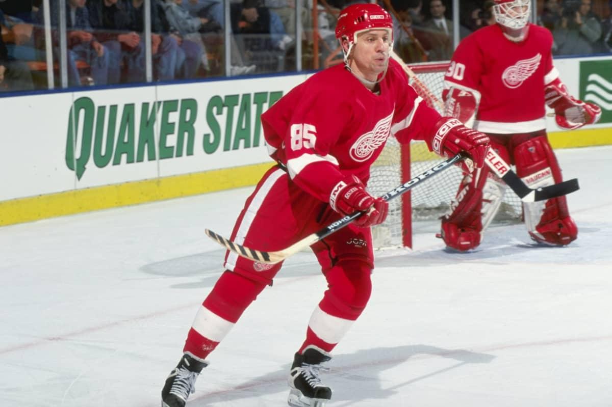 Petr Klima Detroit 1999