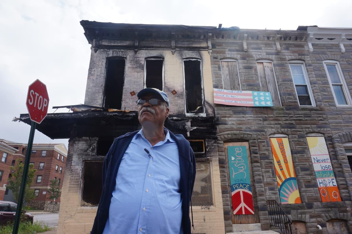 Baltimorelainen ihmisoikeusaktivisti Ralph Moore.