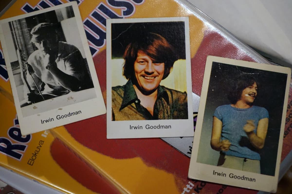 Irwin-kuvia purkkapaketeista