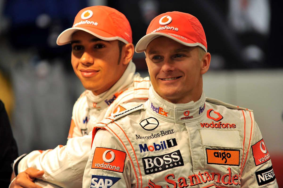 Lewis Hamilton ja Heikki Kovalainen