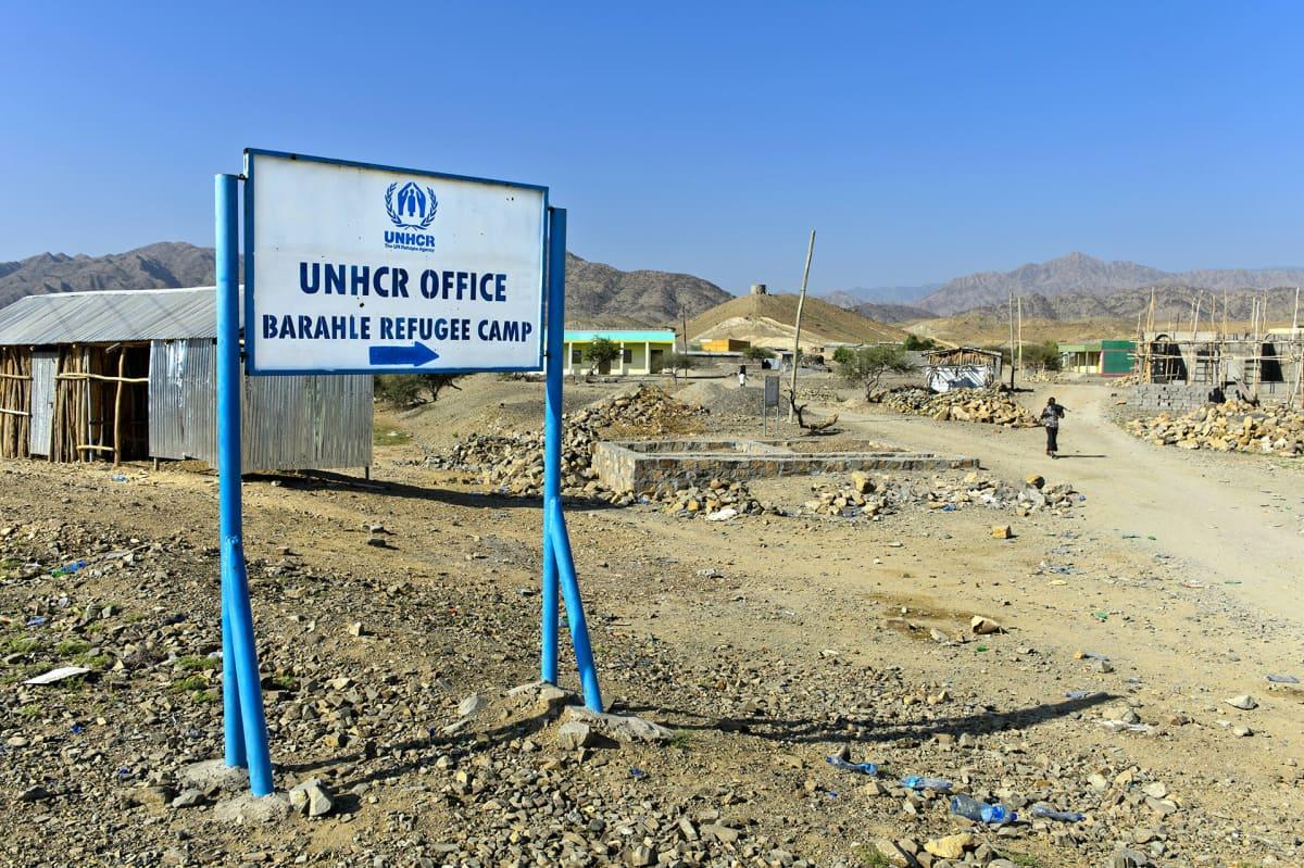 Pakolaisleiri Koillis-Etiopiassa.