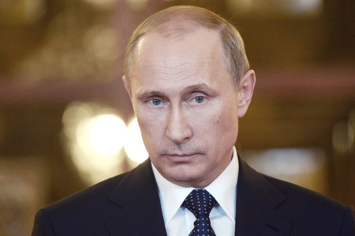 Venäjän presidentti Vladimir Putin kuvattuna Brasilian vierailunsa aikana 16. heinäkuuta 2014.