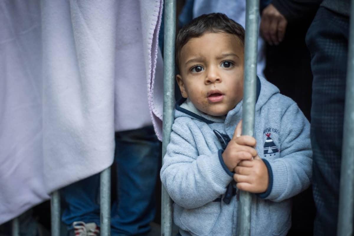 Pakolaislapsi Brysselissä