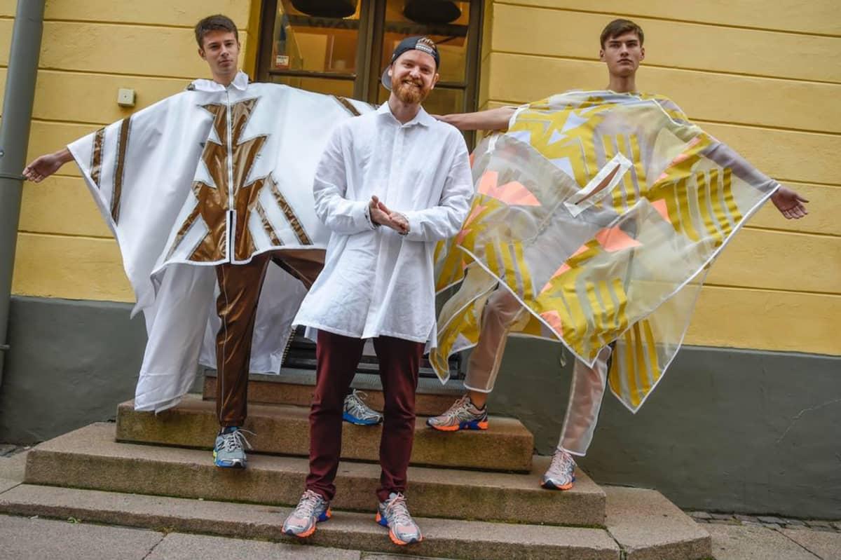 Vuoden 2015 nuori suunnittelija Rolf Ekroth
