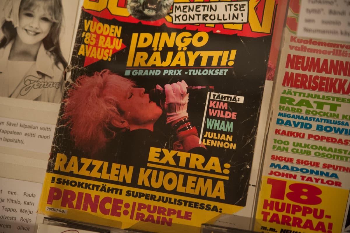 Suosikkilehden kansi 80-luvulta