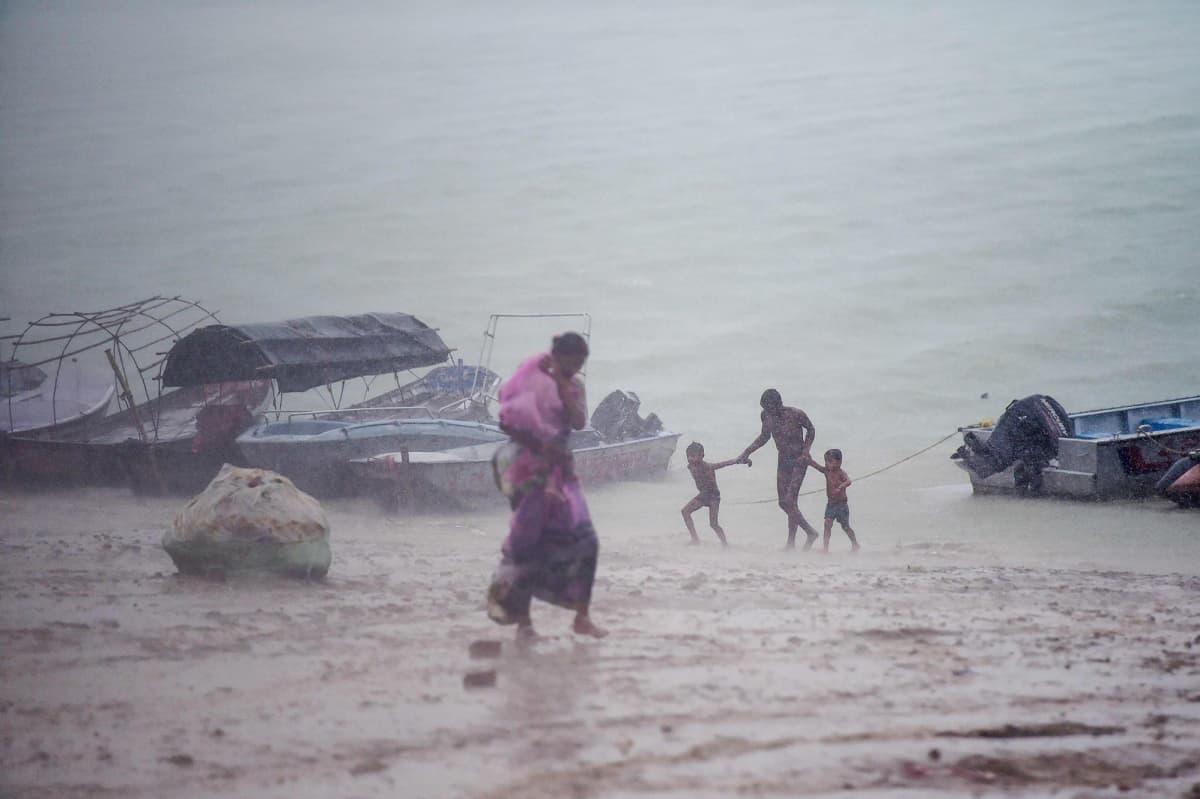 Kuvassa on joki Sangamissa.