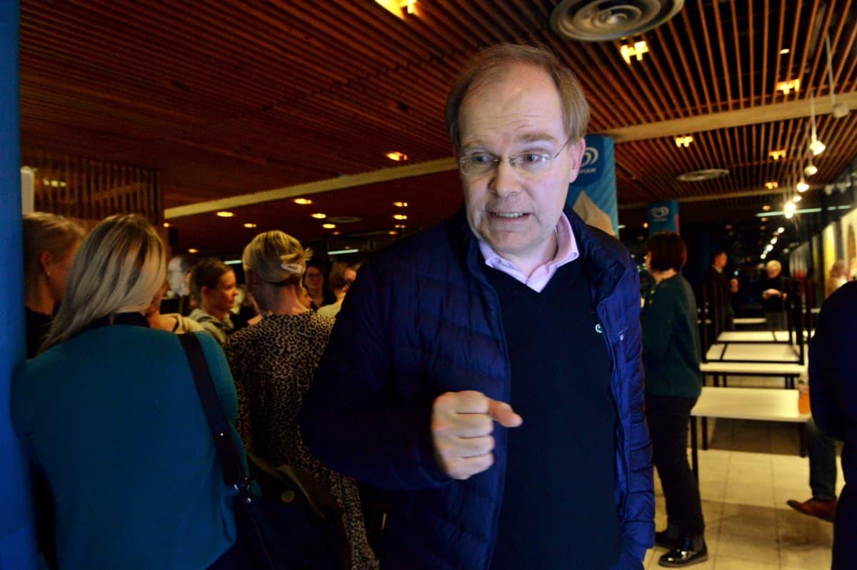 Mikael Nyberg HSK puheenjohtaja taitoluistelu