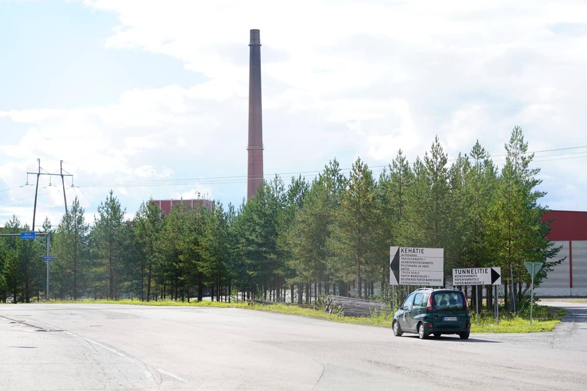 Kaipolan paperitehdas Jämsässä