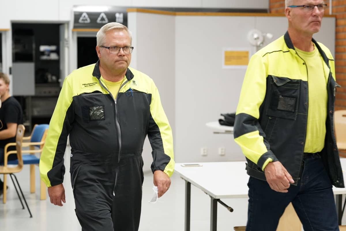 Pääluottamusmies - Ismo Salonen