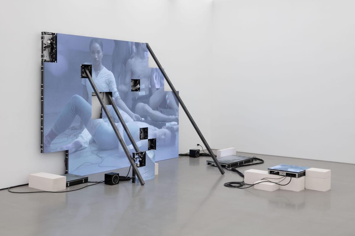 Kuva Jesperin teoksesta Corporealités New Yorkissa 2020.