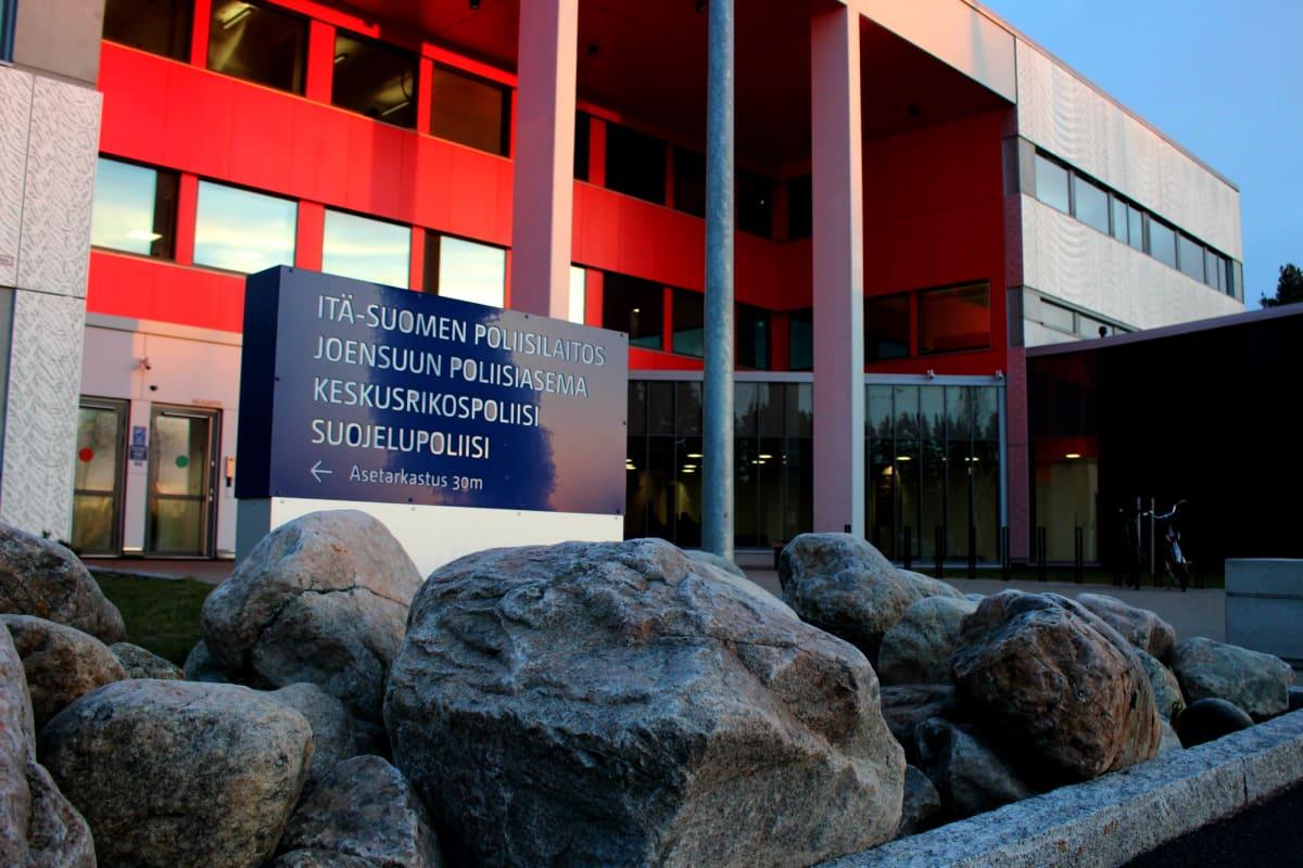 Joensuun oikeus- ja poliisitalo marraskuussa 2018