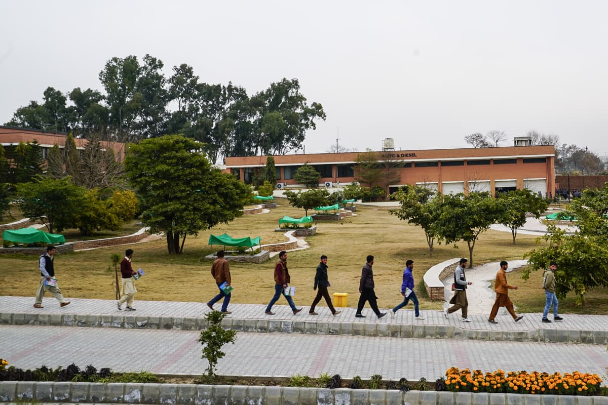 NUtech ammattikoulu Campus Pakistan.