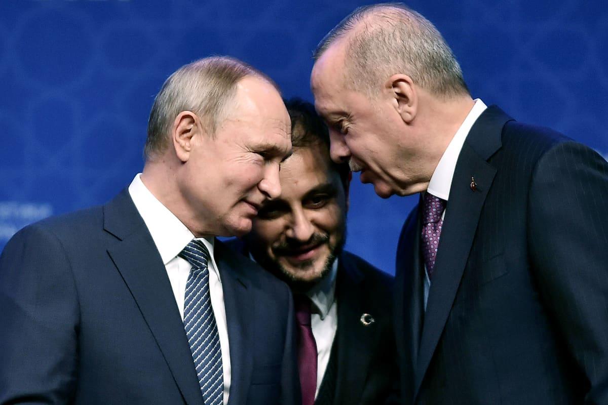 Vladimir Putin ja Recep Tayyip Erdoğan tapaavat Istanbulissa.