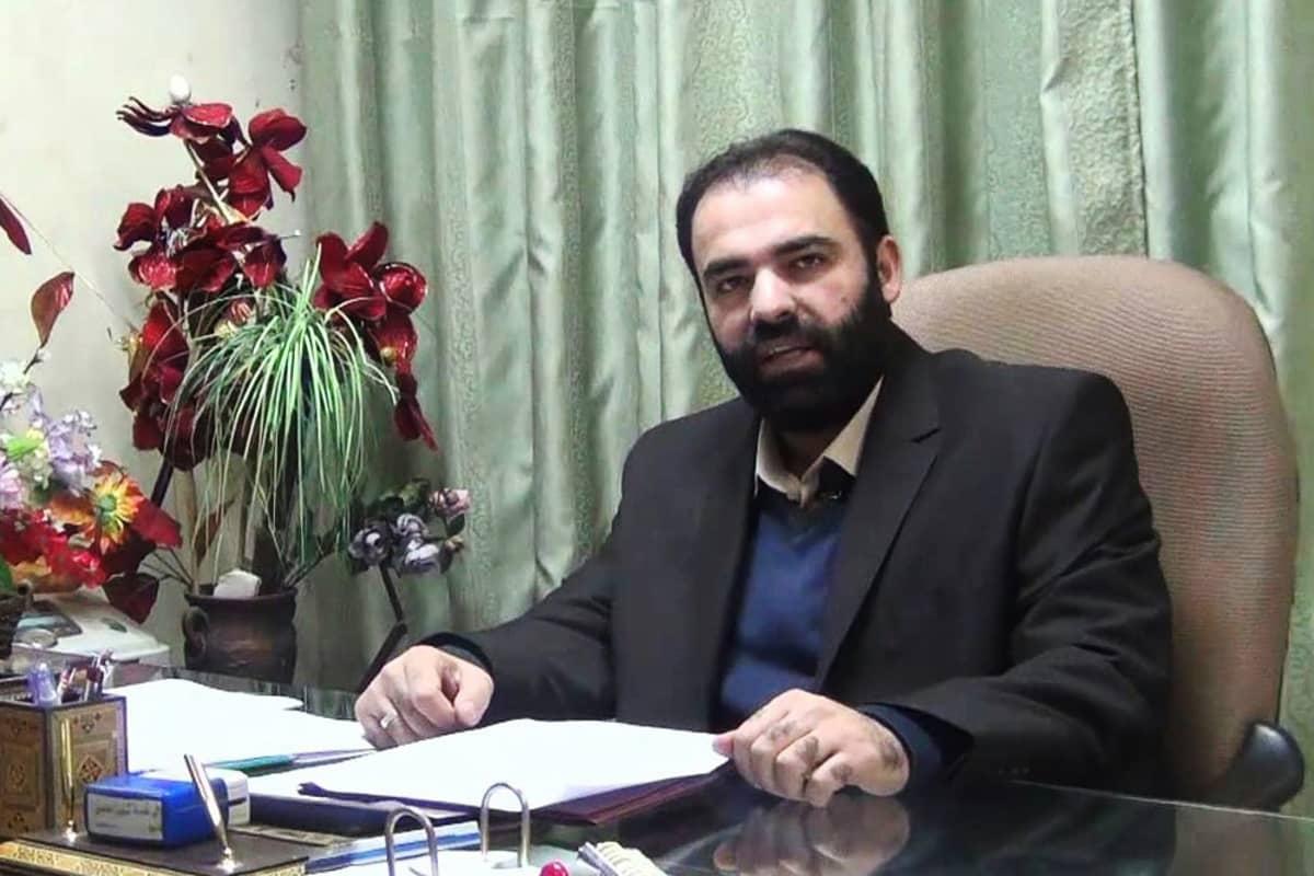 Idlibin terveysviraston johtaja Munzir Khalil.