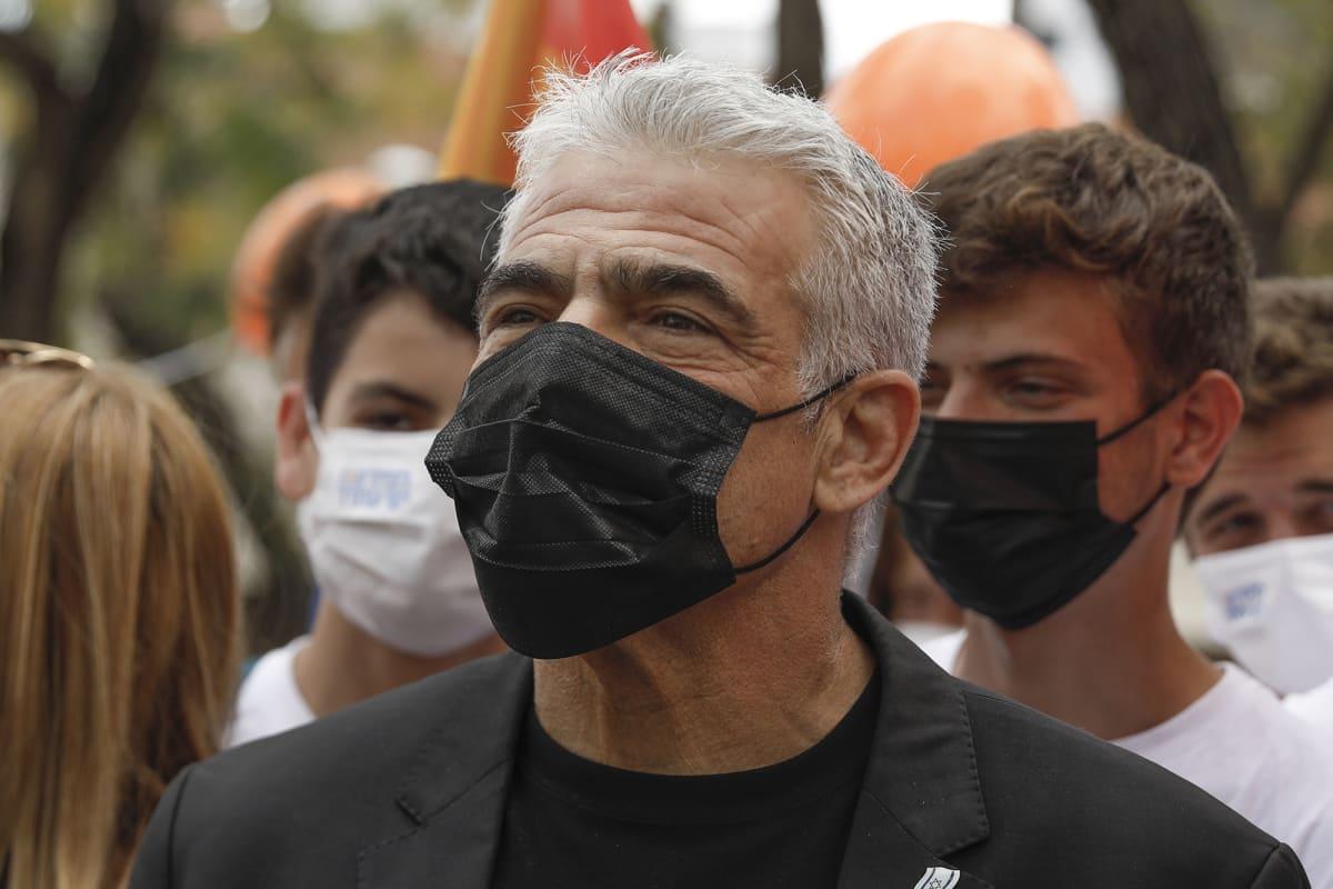 Israelilainen politiikko Yair Lapid.